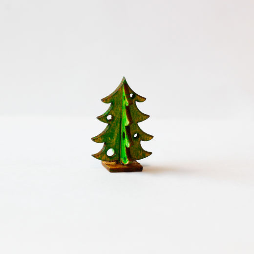 Christmas tree, table decoration