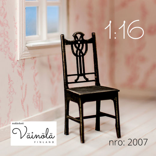 Art Nouveau Chair 1:16