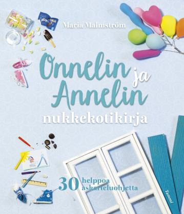 Book, Onneli´s and Anneli´s Dollhouse book for kids, Sold Out