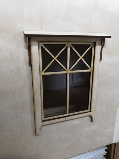 Window, model 2, suitable for Martta Cottage