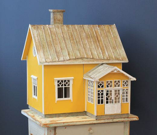 Little Cottage, Martta, laser cut kit, 1:16, whole package