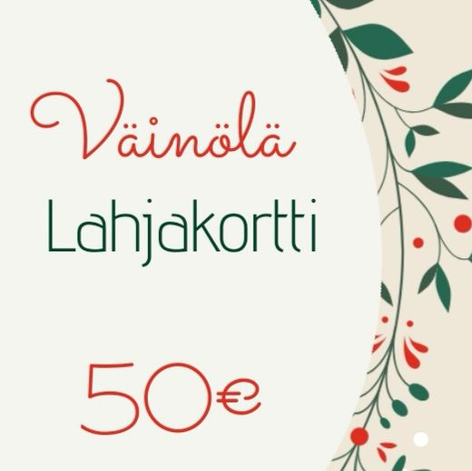 Gift card, 50€