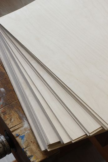 Plywood birch, 1,5mm