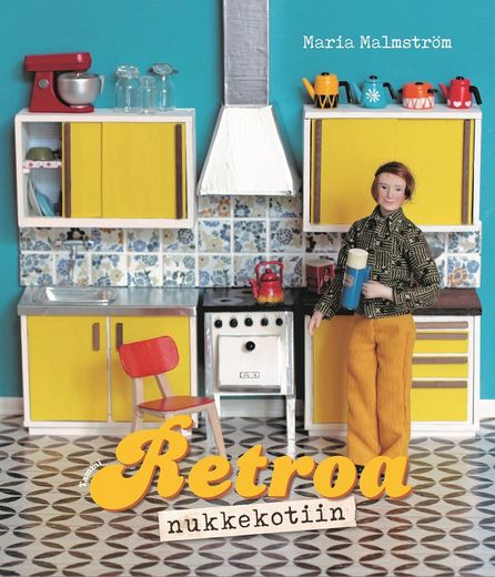 Book, Retro Dollhouse